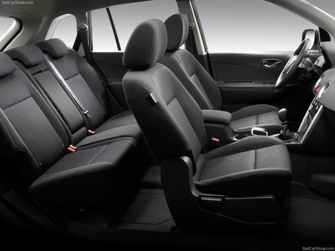 фото салона Рено Колеос 2009 Renault Koleos interior photo foto, тахометр, спидометр, аудиосистема