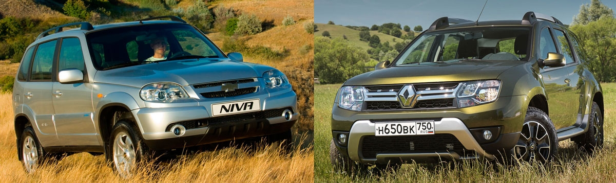 chevrolet niva renault duster 1.jpg nggid03278 ngg0dyn 0x0x100 00f0w010c010r110f110r010t010 - Что лучше по грязи дастер или нива